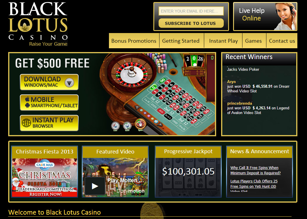 Online Casino Promotions 2019