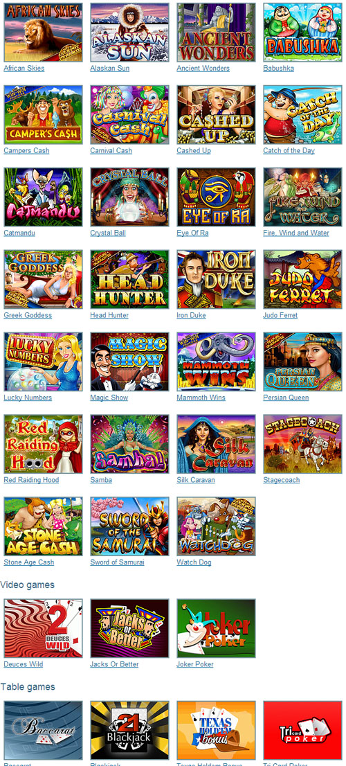 grand online casino casino online games