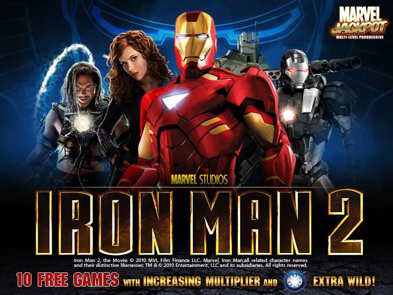 IronMan2-Slot
