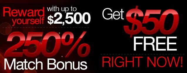 Ruby Slots Bonus